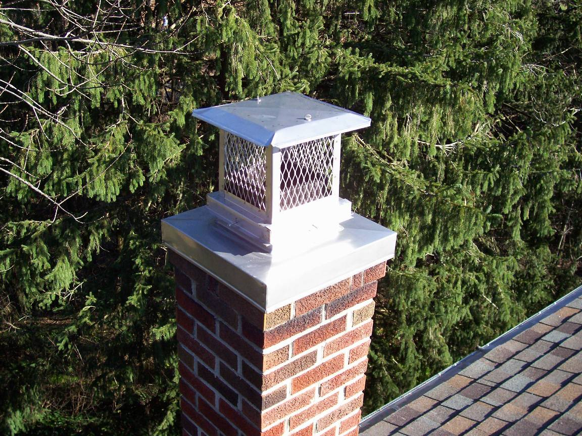 Stainless Steel Masonry Chimney Crown Cover
